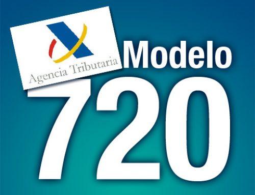 Presentar el modelo 720