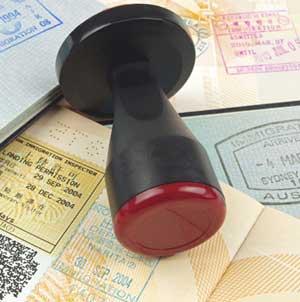 Solicitud de visados en Madrid